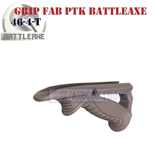 Ergonomic Pointing Grip FAB PTK TAN BATTLEAXE (46-4-T)