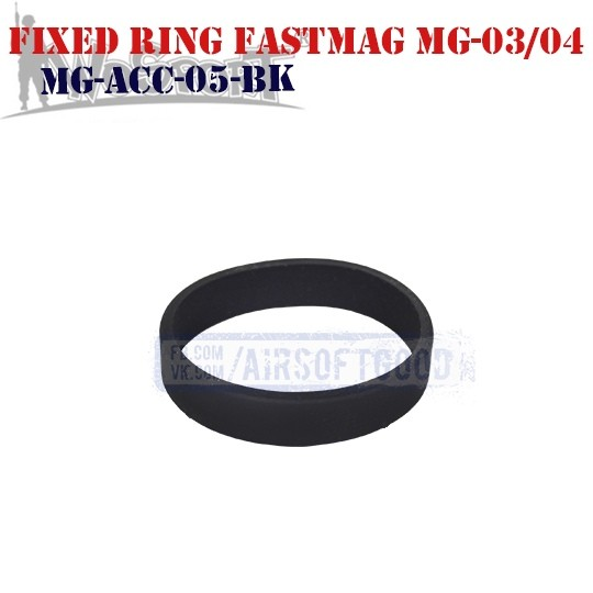 Fixed Ring Pouch FastMag MG-03/04 Black WoSporT (MG-ACC-05-BK)