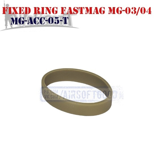 Fixed Ring Pouch FastMag MG-03/04 TAN WoSporT (MG-ACC-05-T)