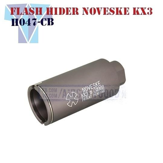 Flash Hider Noveske KX3 Adjustable Sound Amplifier SHS (H047-CB)