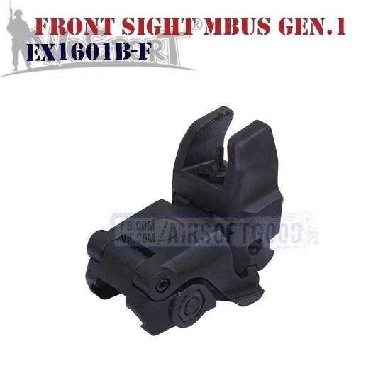 Front Sight MAGPUL MBUS Gen.1 Black WoSporT (EX1601B-F)