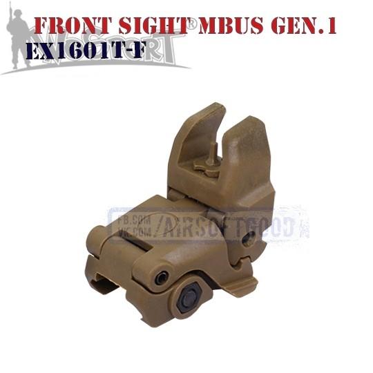 Front Sight MAGPUL MBUS Gen.1 TAN WoSporT (EX1601T-F)