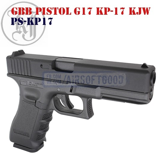 GBB Pistol G17 KP-17 KJW (PS-KP17)