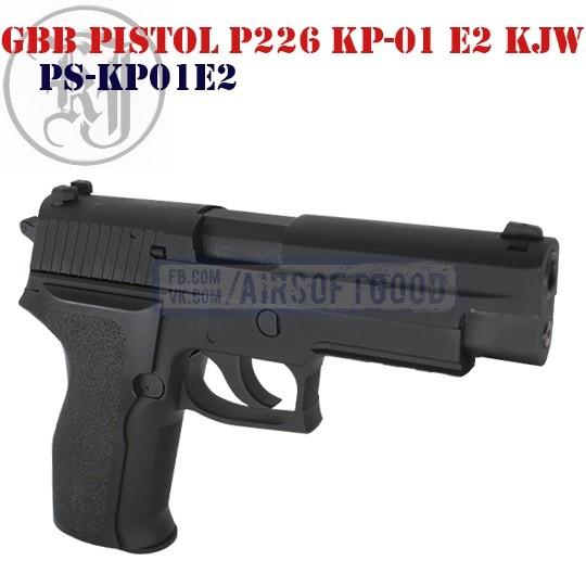 GBB Pistol P226 KP-01 E2 KJW (PS-KP01E2)