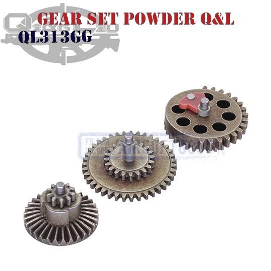 Gear Set 18:1 Powder Q&L (QL313GG)