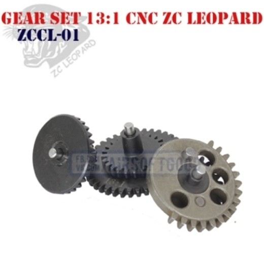 Gear Set High Speed 13:1 CNC ZC Leopard (ZCCL-01)