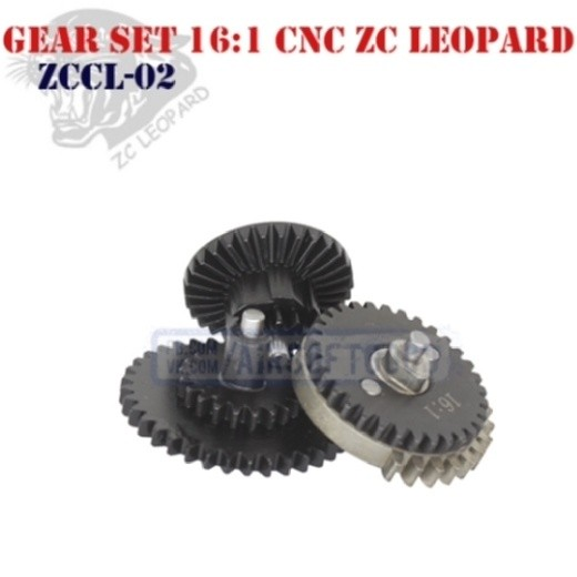 Gear Set Speed 16:1 CNC ZC Leopard (ZCCL-02)