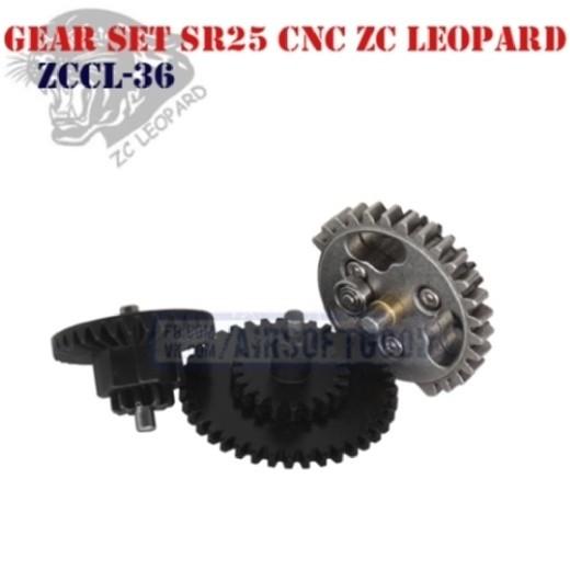Gear Set Torque SR25 CNC ZC Leopard (ZCCL-36)