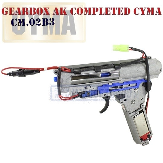 Gearbox AK Completed High Torque CYMA (CM.02B3)