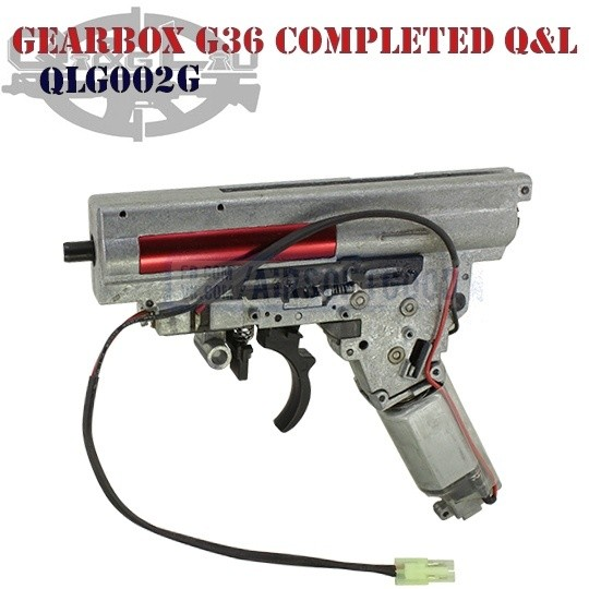 Gearbox QD G36 Completed Q&L (QLG002G)