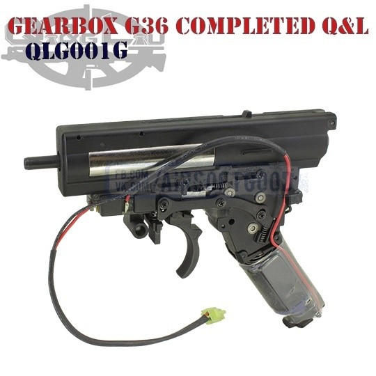 Gearbox QD G36 EBB Completed Strong Q&L (QLG001G)