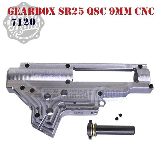 Gearbox Shell SR25 QSC 9mm CNC Aluminum RetroArms (7120)