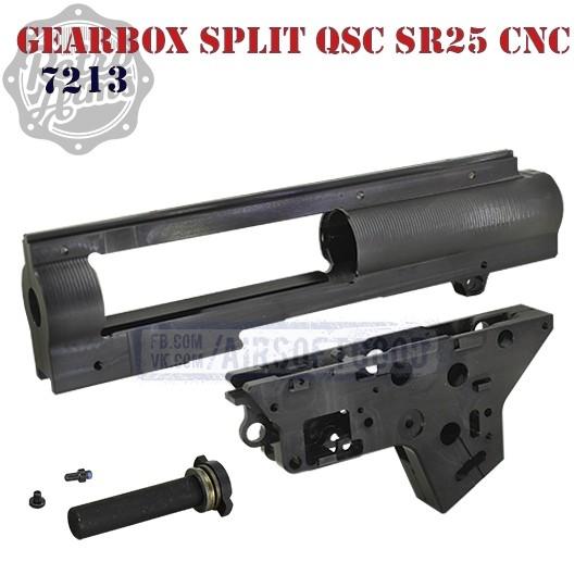 Gearbox Shell Split QSC 8mm SR25 CNC Aluminum Retro Arms (7213)