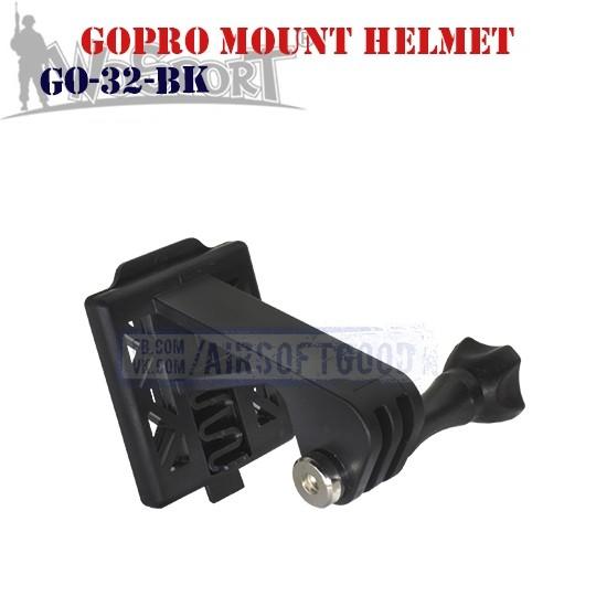 GoPro Mount Helmet Black WoSporT (GO-32-BK)