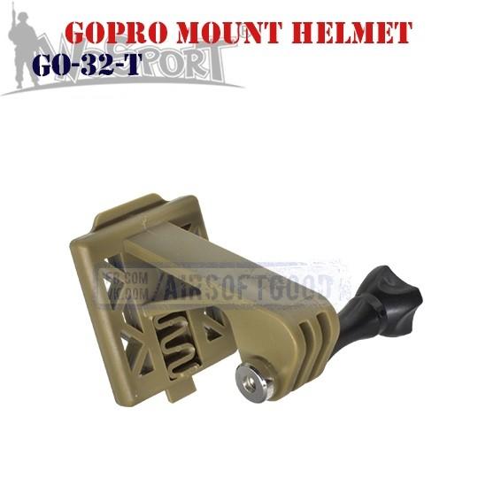 GoPro Mount Helmet TAN WoSporT (GO-32-T)