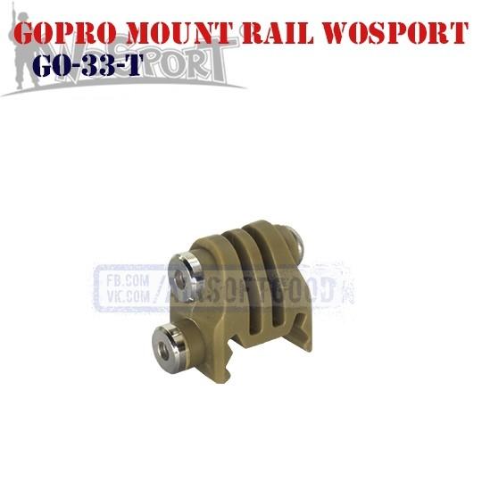 GoPro Mount Rail TAN WoSporT (GO-33-T)
