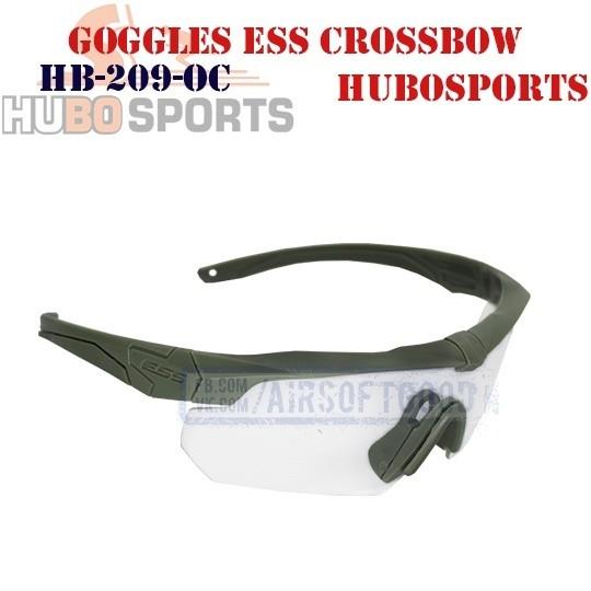 Goggles ESS Crossbow Lens Clear Olive HUBOSPORTS (HB-209-OC)