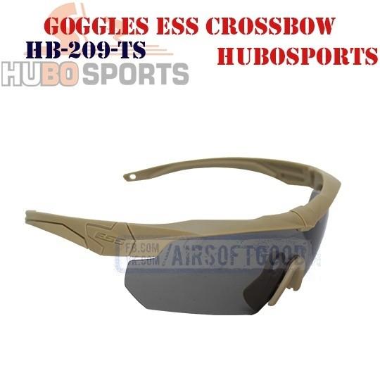 Goggles ESS Crossbow Lens Smoke DE HUBOSPORTS (HB-209-TS)