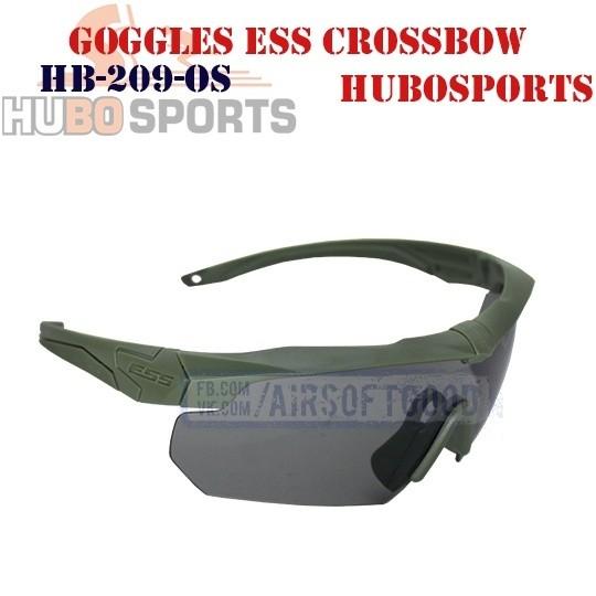 Goggles ESS Crossbow Lens Smoke Olive HUBOSPORTS (HB-209-OS)