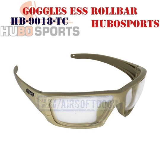 Goggles ESS ROLLBAR Lens Clear TAN HUBOSPORTS (HB-9018-TC)