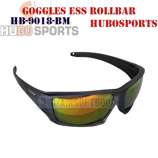 Goggles ESS ROLLBAR Lens Mirrored HUBOSPORTS (HB-9018-BM)