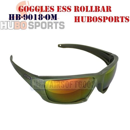 Goggles ESS ROLLBAR Lens Mirrored Olive HUBOSPORTS (HB-9018-OM)
