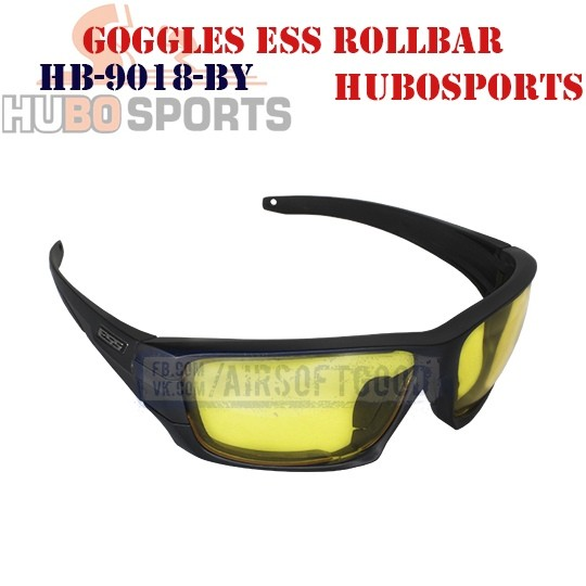 Goggles ESS ROLLBAR Lens Yellow HUBOSPORTS (HB-9018-BY)