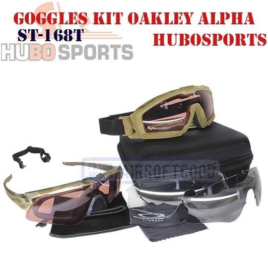 Goggles Kit Oakley Alpha Operator DE HUBOSPORTS (ST-168T)