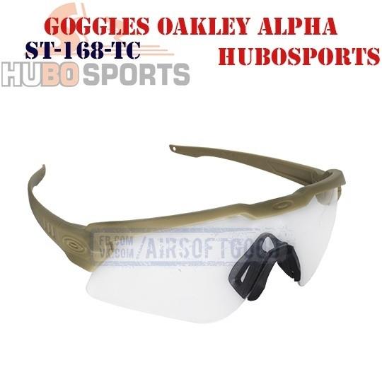 Goggles Oakley Alpha Operator Lens Clear DE HUBOSPORTS (ST-168-TC)