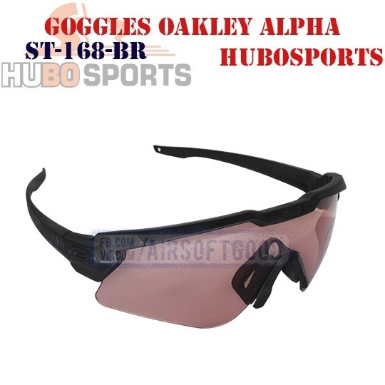 Goggles Oakley Alpha Operator Lens Rose HUBOSPORTS (ST-168-BR)