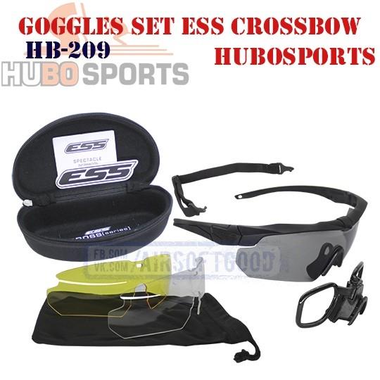 Goggles Set ESS Crossbow HUBOSPORTS (HB-209)