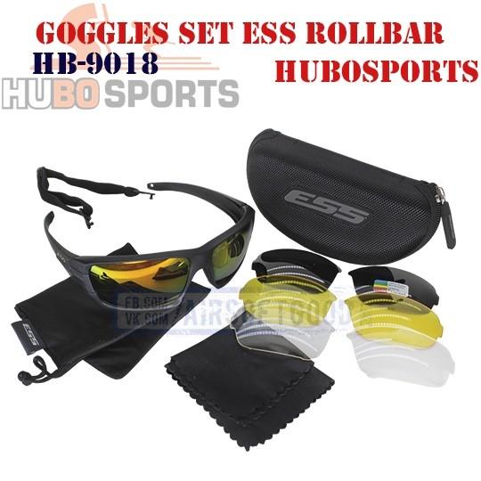 Goggles Set ESS ROLLBAR HUBOSPORTS (HB-9018)
