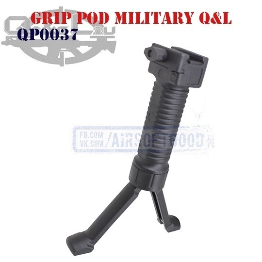 Grip Pod Military Q&L (QP0037)