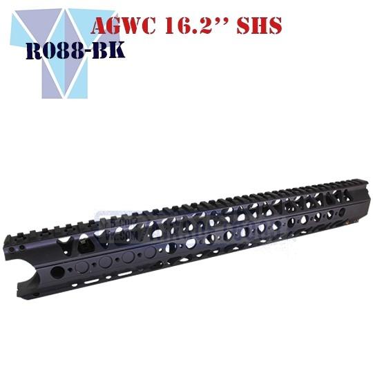 """Handguard AGWC 16.2"""" SHS (R088-BK)"""