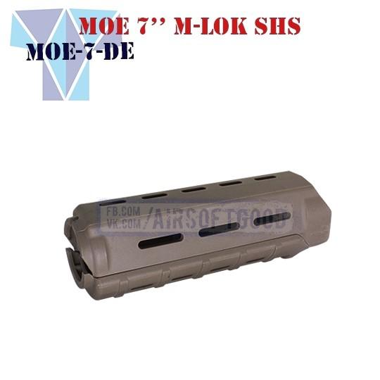"""Handguard MAGPUL MOE 7"""" M-LOK DE SHS (MOE-7-DE)"""