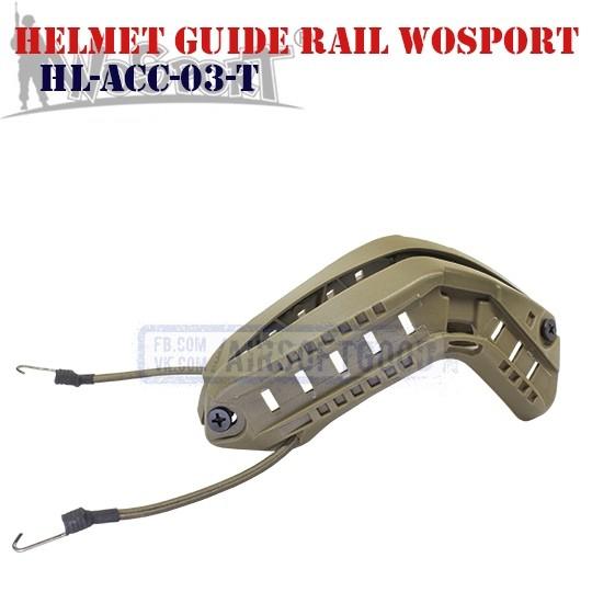 Helmet Guide Rail DE WoSporT (HL-ACC-03-T)