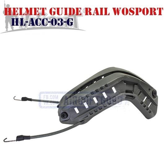 Helmet Guide Rail Grey WoSporT (HL-ACC-03-G)