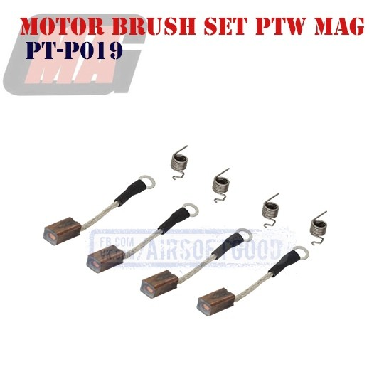 High Silver Motor Brush Set PTW MAG (PT-P019)