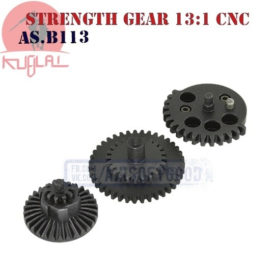 High Strength Gear Set High Speed 13:1 CNC KUBLAI (AS.B113)
