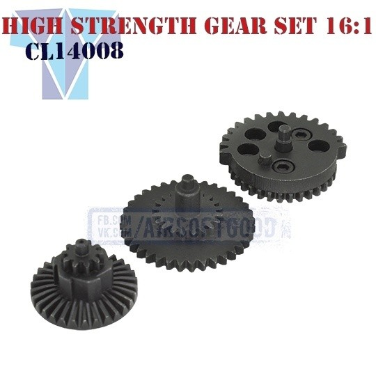High Strength Gear Set Speed 16:1 CNC SHS (CL14008)