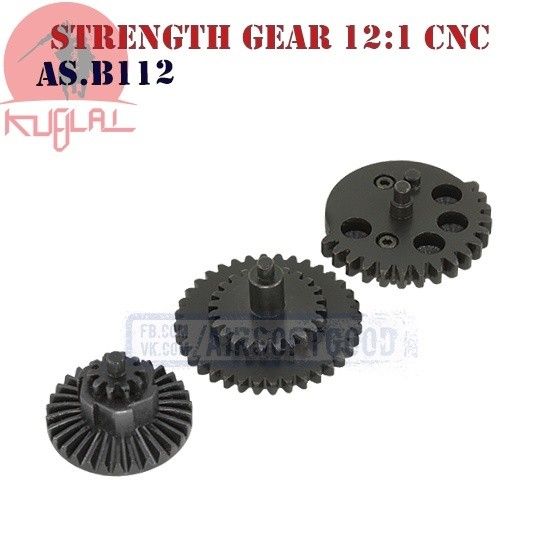 High Strength Gear Set Standard 12:1 CNC KUBLAI (AS.B112)