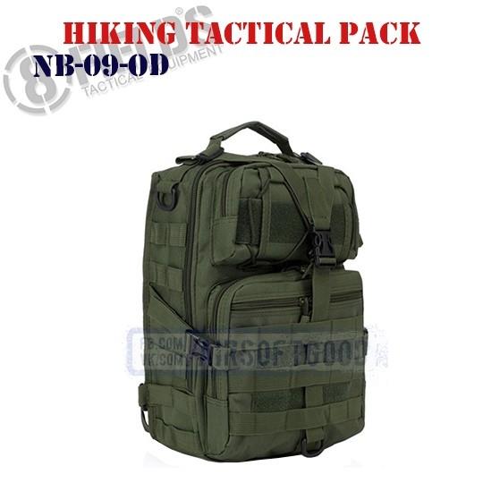 Hiking Tactical BackPack OD 8FIELDS (NB-09-OD)