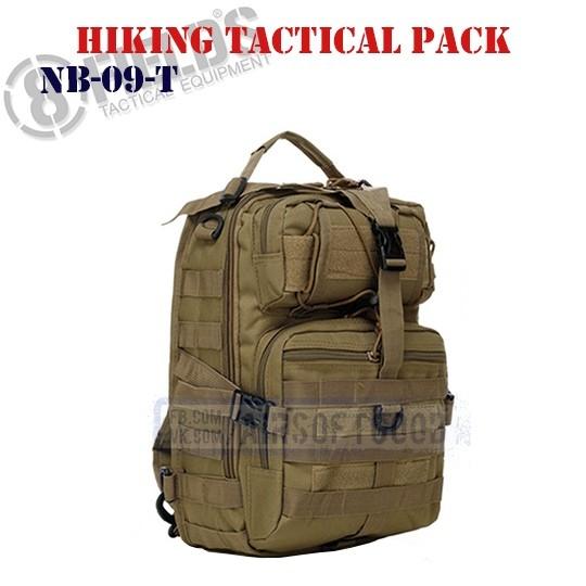 Hiking Tactical BackPack TAN 8FIELDS (NB-09-T)