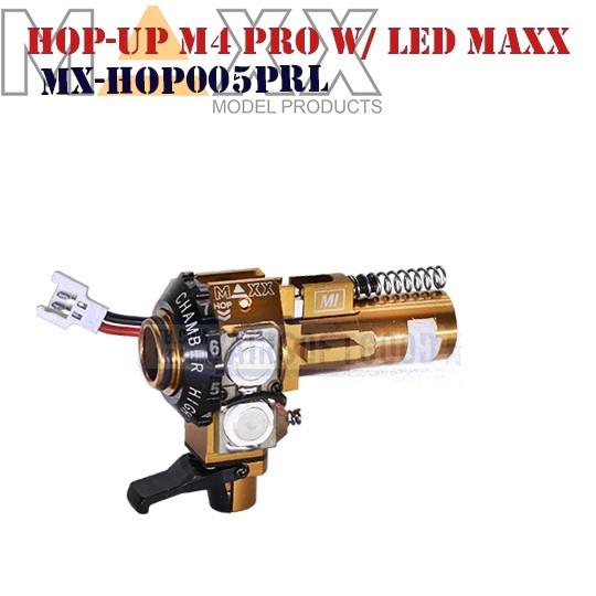 Hop-UP M4 ME-PRO W/LED CNC Aluminum MAXX (MX-HOP005PRL)
