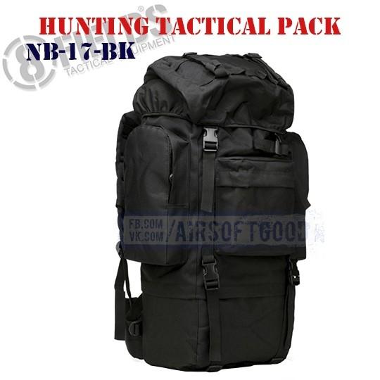 Hunting Tactical BackPack Black 8FIELDS (NB-17-BK)