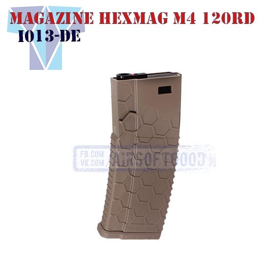 Magazine Hexmag M4 120rd DE SHS (I103-DE)
