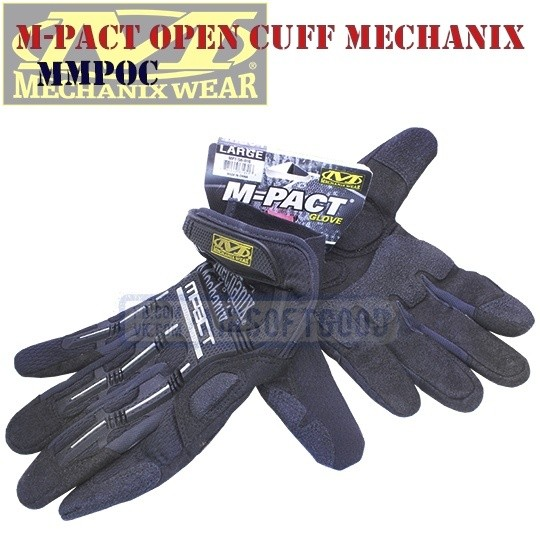 Impact-Resistant Gloves M-Pact Open Cuff Old-Version Mechanix (MMPOC)