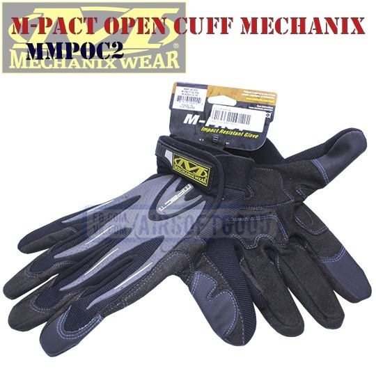 Impact-Resistant Gloves M-Pact Open Cuff Old-Version Mechanix (MMPOC2)