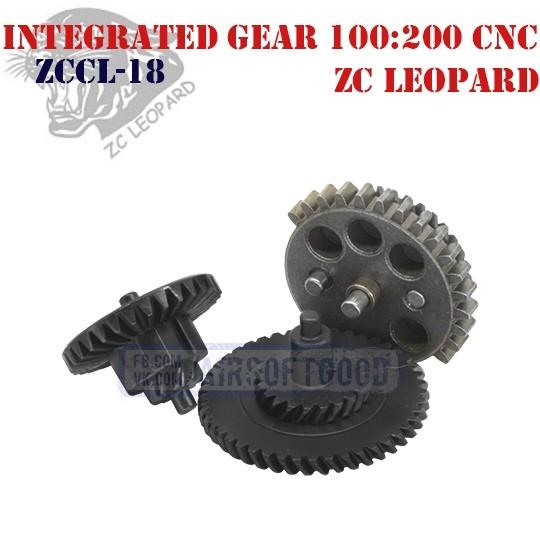 Integrated Gear Set Torque 100:200 CNC ZC Leopard (ZCCL-18)
