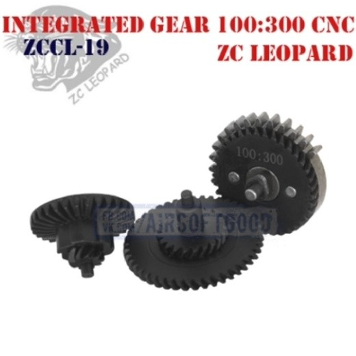 Integrated Gear Set Ultra Torque 100:300 CNC ZC Leopard (ZCCL-19)